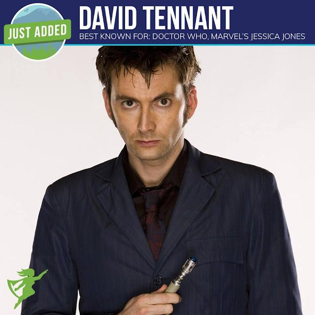 David Tennant - Emerald City Comic Con fan convention 2018