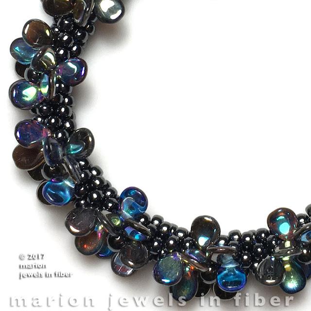 Kumihimo with PIP Beads