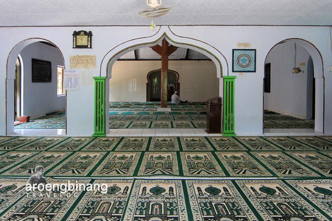 masjid saka tunggal pekuncen kebumen