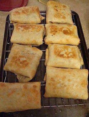 Cooking Recipes 2016 Baked Chicken Chimichangas