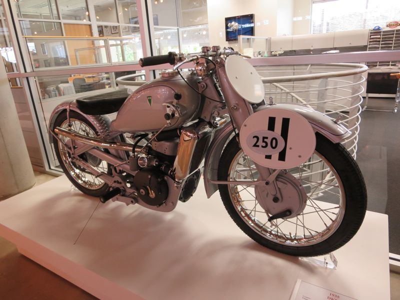 DKW supercharged SS 250 Ladepumpe motorcycle Barber Museum