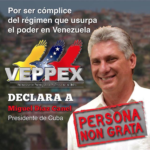 VEPPEX DECLARA AL TITERE CUBANO MIGUEL DIAZ CANAL PERSONA NON GRATA