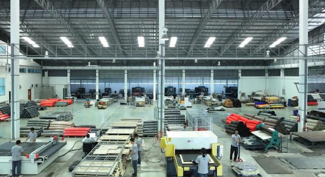 Xưởng sản xuất thảm Thái Lan