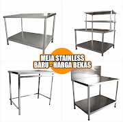 Jual Meja Stainless Steel Harga Bekas