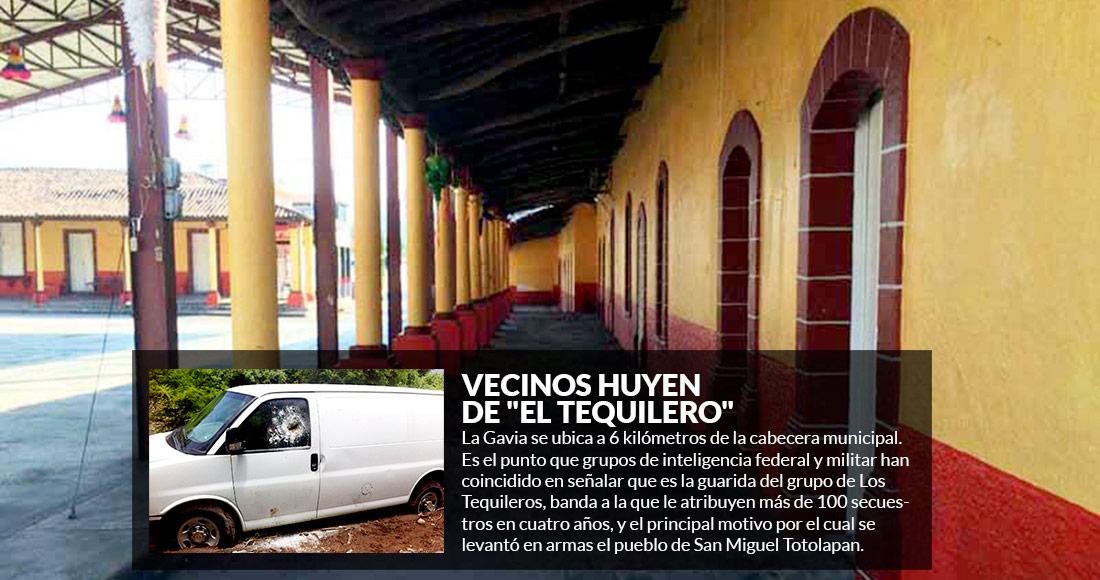 """Eran 600 habitantes; hoy quedan dos ancianos en La Gavia, bastión del líder criminal """"El Tequilero"""""""