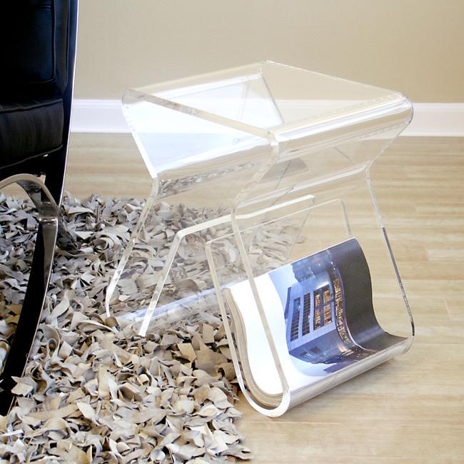 Acrylic Interior Design: Seaseight Design Blog: INTERIOR DESIGN // ACRYLIC SIDE TABLE