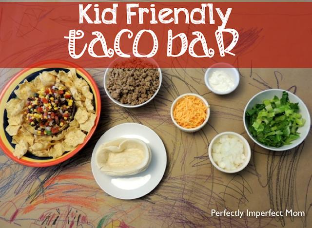 EAT: Kid Friendly Taco Bar!