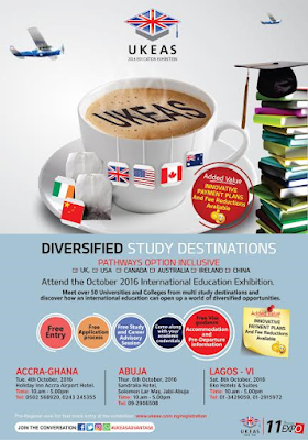 Attend the 11TH Ukeas International Education Expo!