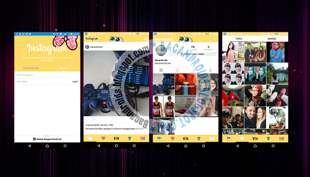 download App Instagram Mod Tema Spongebob Versi Terbaru