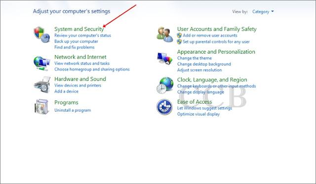 mematikan auto update di windows 7