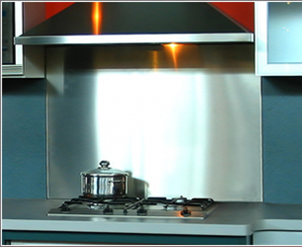Stainless Steel Kitchen Splashback The Kitchen Design