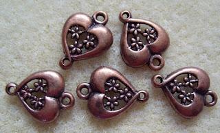 copper jewellery findings