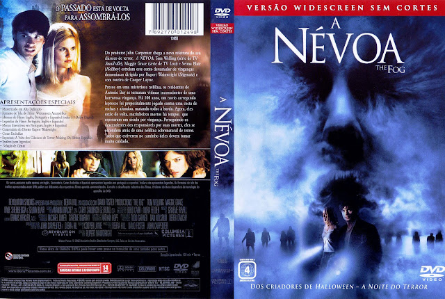 Capa DVD A Névoa