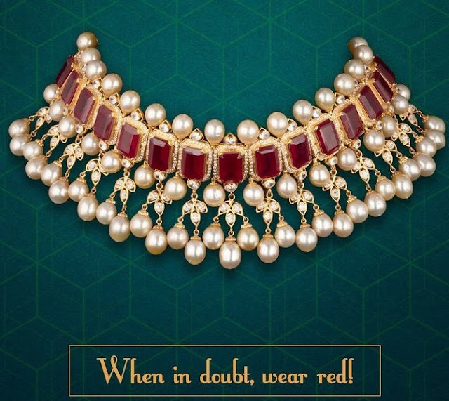 Ruby Choker from Kameswari Jewellers