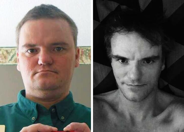 16 Before And After Pictures Of People Who Lost Weight And Became Unrecognizable