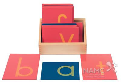 namc montessori circle of inclusion classic presentation. sandpaper letters