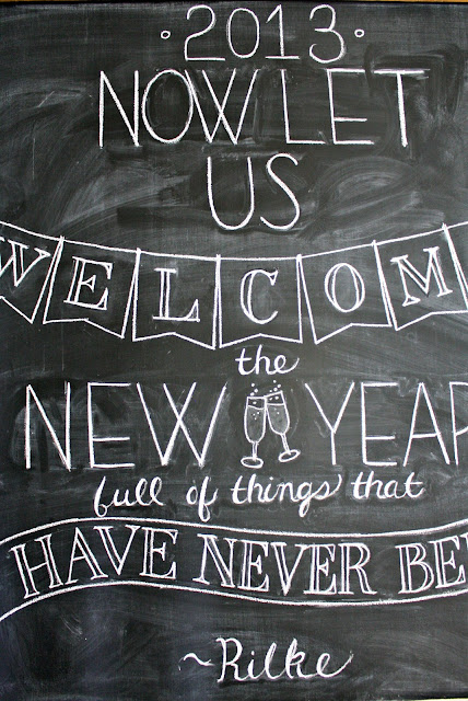 New Years Eve Chalkboard