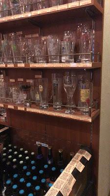 醸造所のビールグラス
