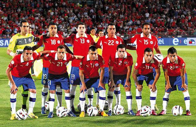 Formación de Chile ante Uruguay, Clasificatorias Brasil 2014, 26 de marzo de 2013