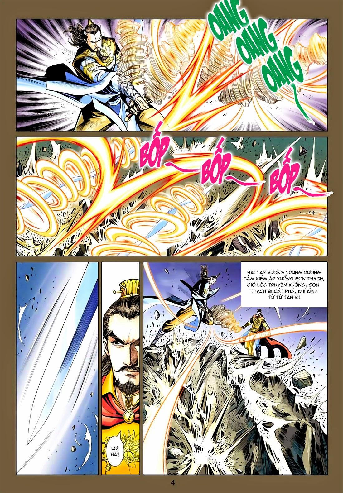 Anh Hùng Xạ Điêu anh hùng xạ đêu chap 77: thế thượng tối cường võ công trang 4