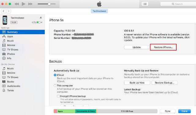 Cara Memperbaiki IPhone Tidak Dapat Terhubung ke ITunes Store 11