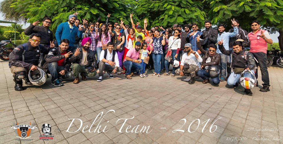 Delhi Team BOB Teamed up for DGR 2016