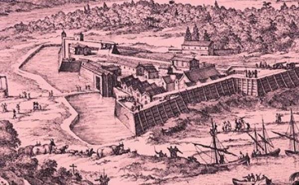 Fort Caroline, Benteng Perancis