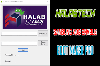 HalabTech Samsung ADB Enable Boot Maker PRO