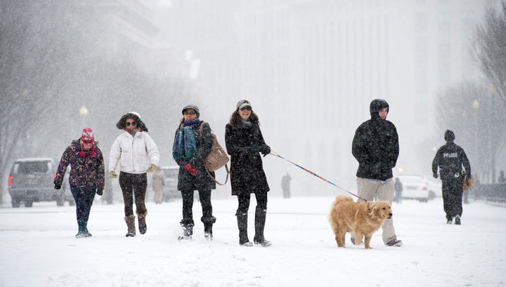 Because of the cold and snowfall in the United States killed at least seven people
