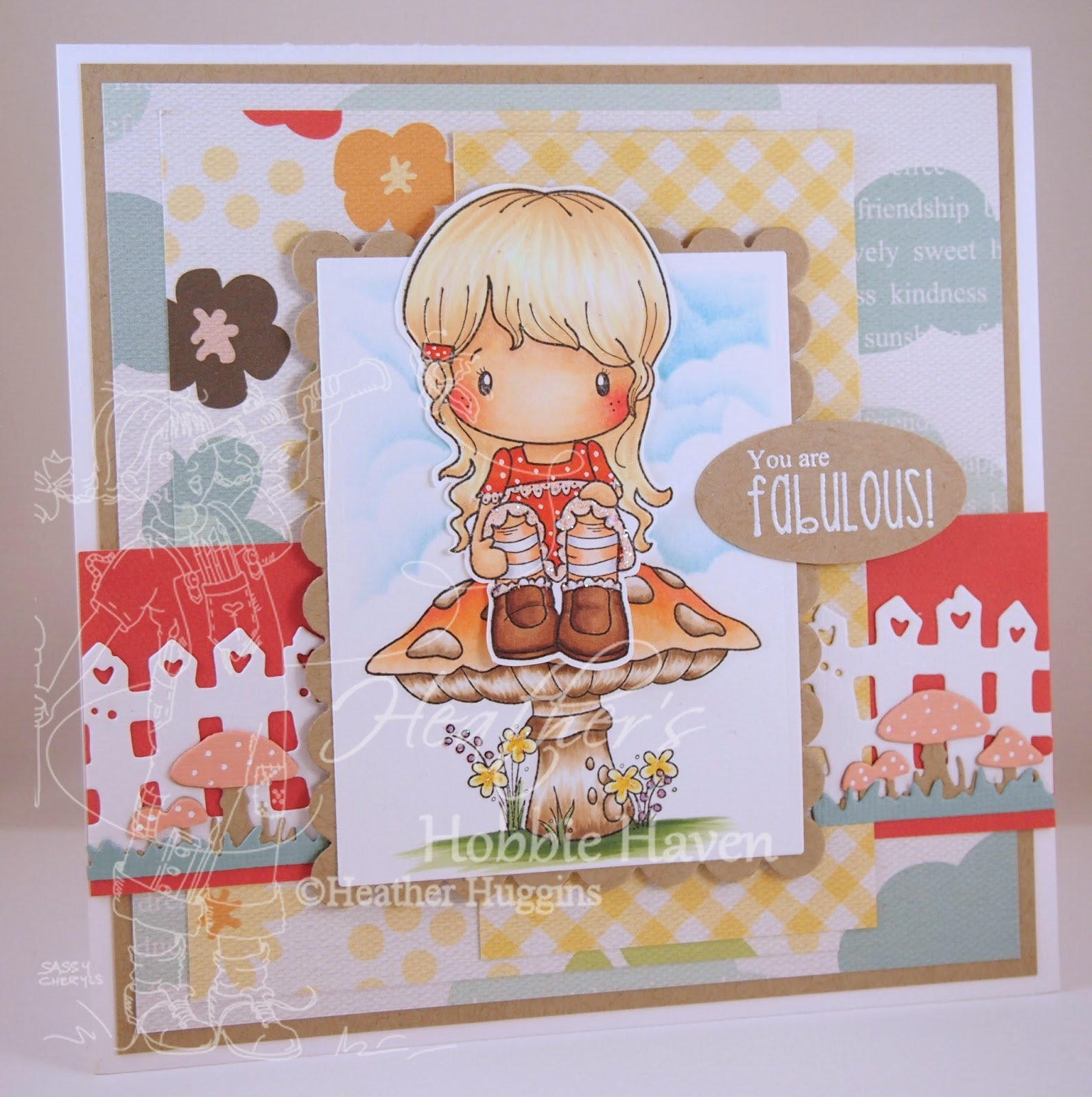 Heather's Hobbie Haven - Woodland Lucy Card Kit