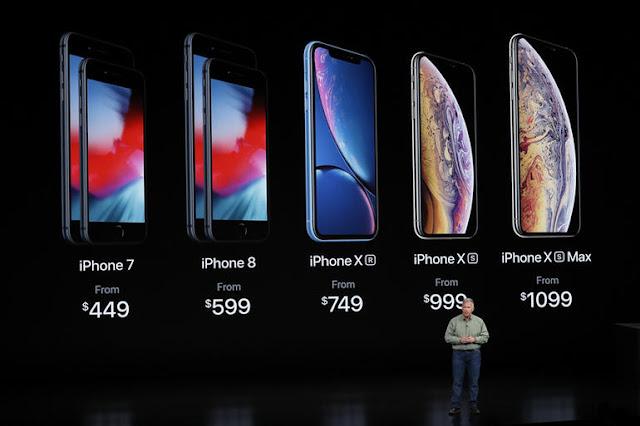 Apple's iPhone XS Max price