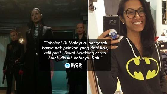 Pegang Watak Dalam Siri TV Amerika Popular, 'Gotham', Pelakon Malaysia Ini Curi Perhatian. Siapakah Dia?