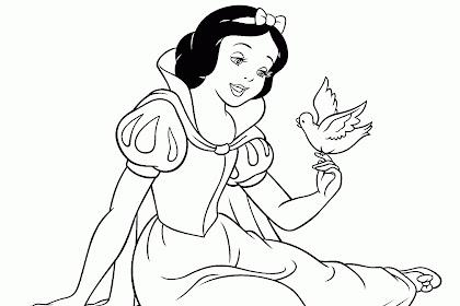 Pamuk Prenses Boyama Resmi