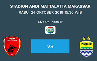 Prediksi PSM Makassar vs Persib Bandung - Liga 1 Rabu 24 Oktober 2018