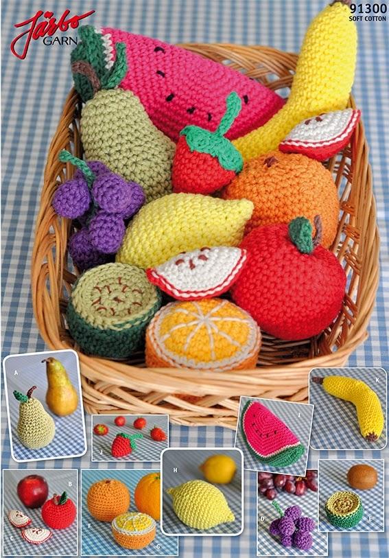 Amigurumi Meyve ve Sebzeler