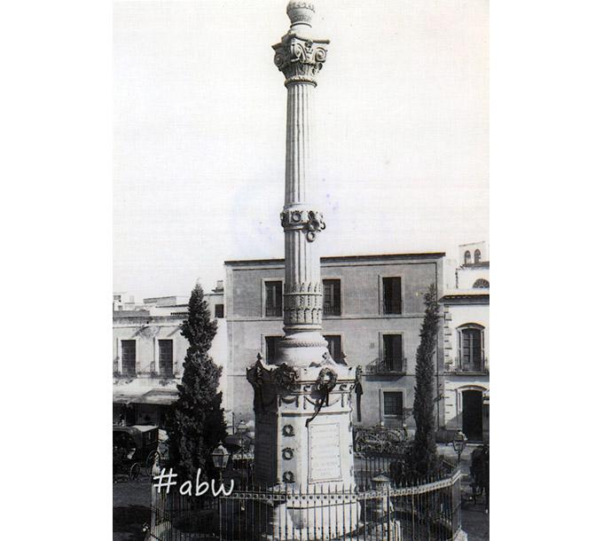 Fotos Antiguas De Almería 1898 Panteón De Los Coloraos En La Plaza De Cádiz
