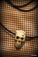 Lovelea's skull necklace