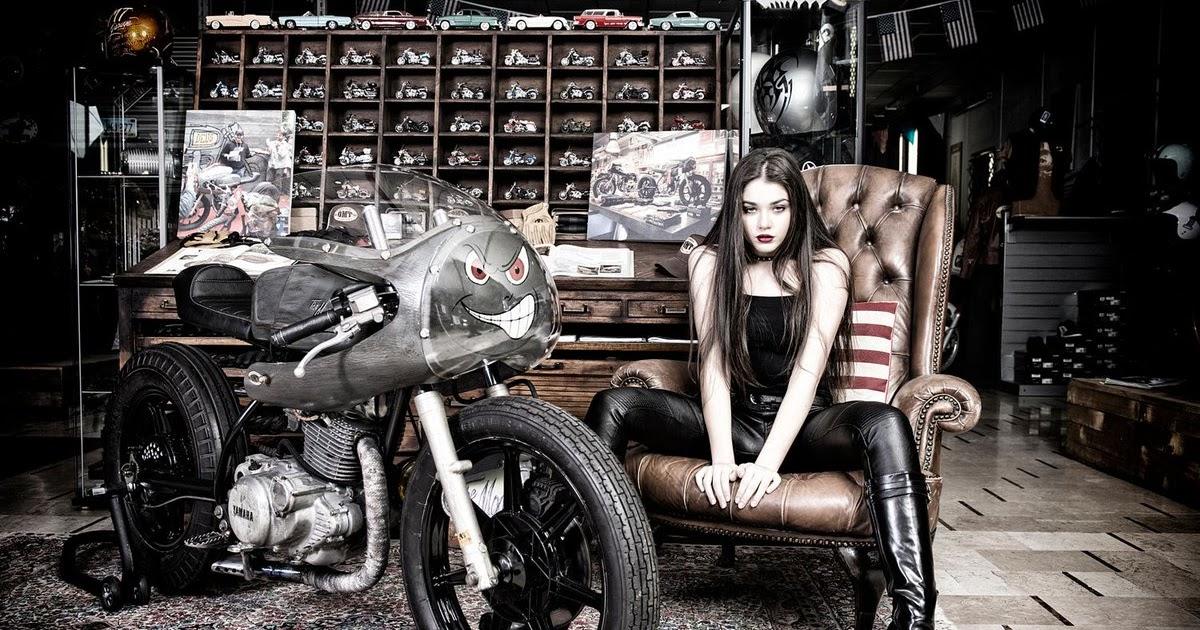 Mercenary garage american gothic - American motorbike garage ...