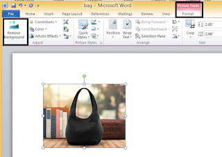 MS WORD BACKGROUND REMOVE