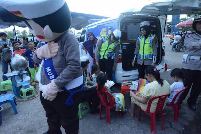 Beri Pendidikan Terhadap Anak, Polres Muba Launching mobil Pintar