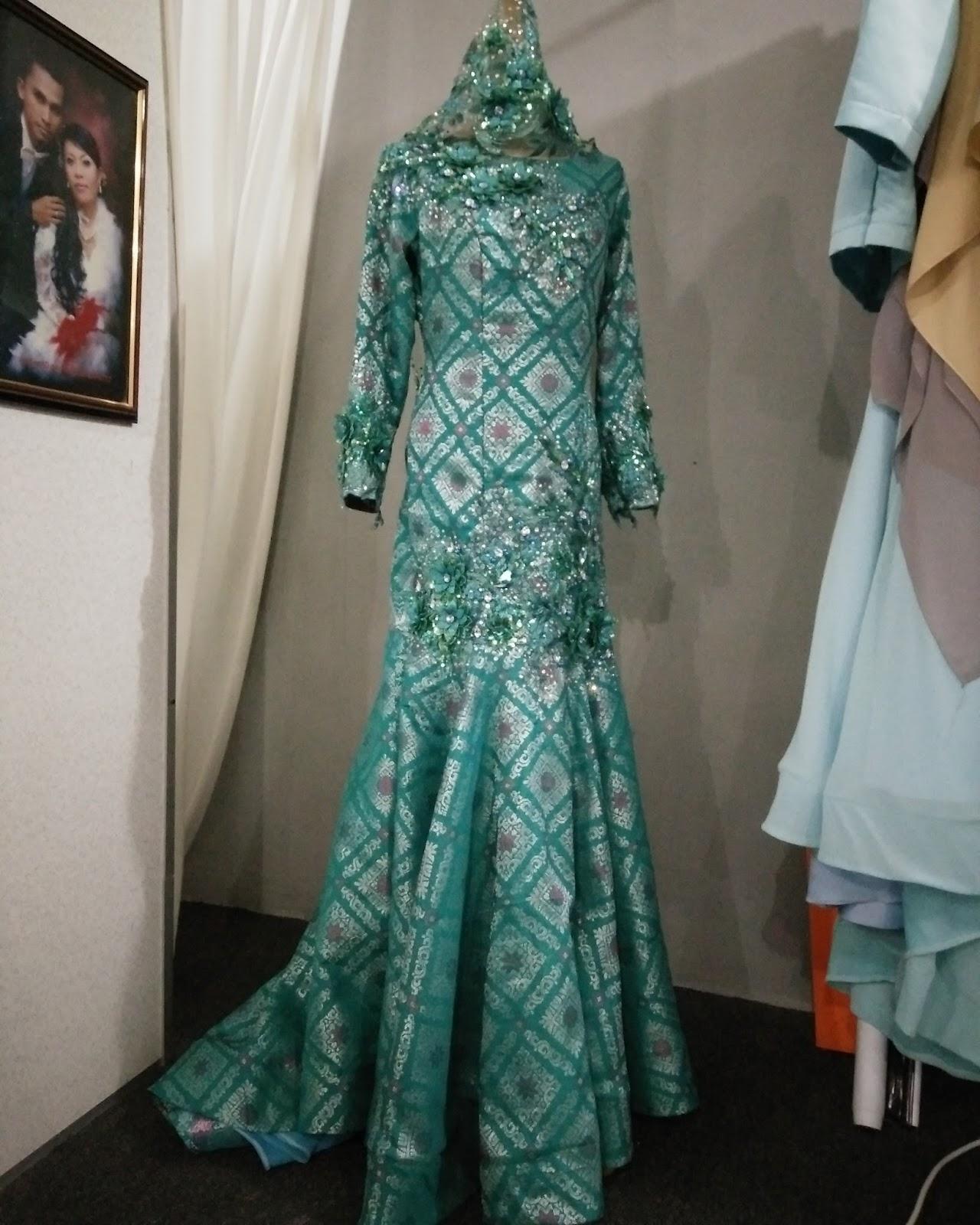 Koleksi Baju Songket Pengantin Terbaru Gaun Pengantin