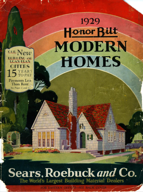 colorful catalog cover showing Sears Mitchell