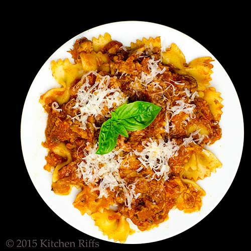 Italian Pork Ragu for Pasta or Polenta