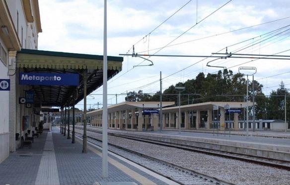 Sale Blu Ferrovie : Trasporti ferrovie: anche lo scalo di metaponto nel circuito sale