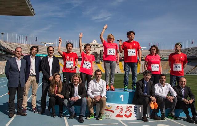 Presentación Zurich Marató de Barcelona 2017