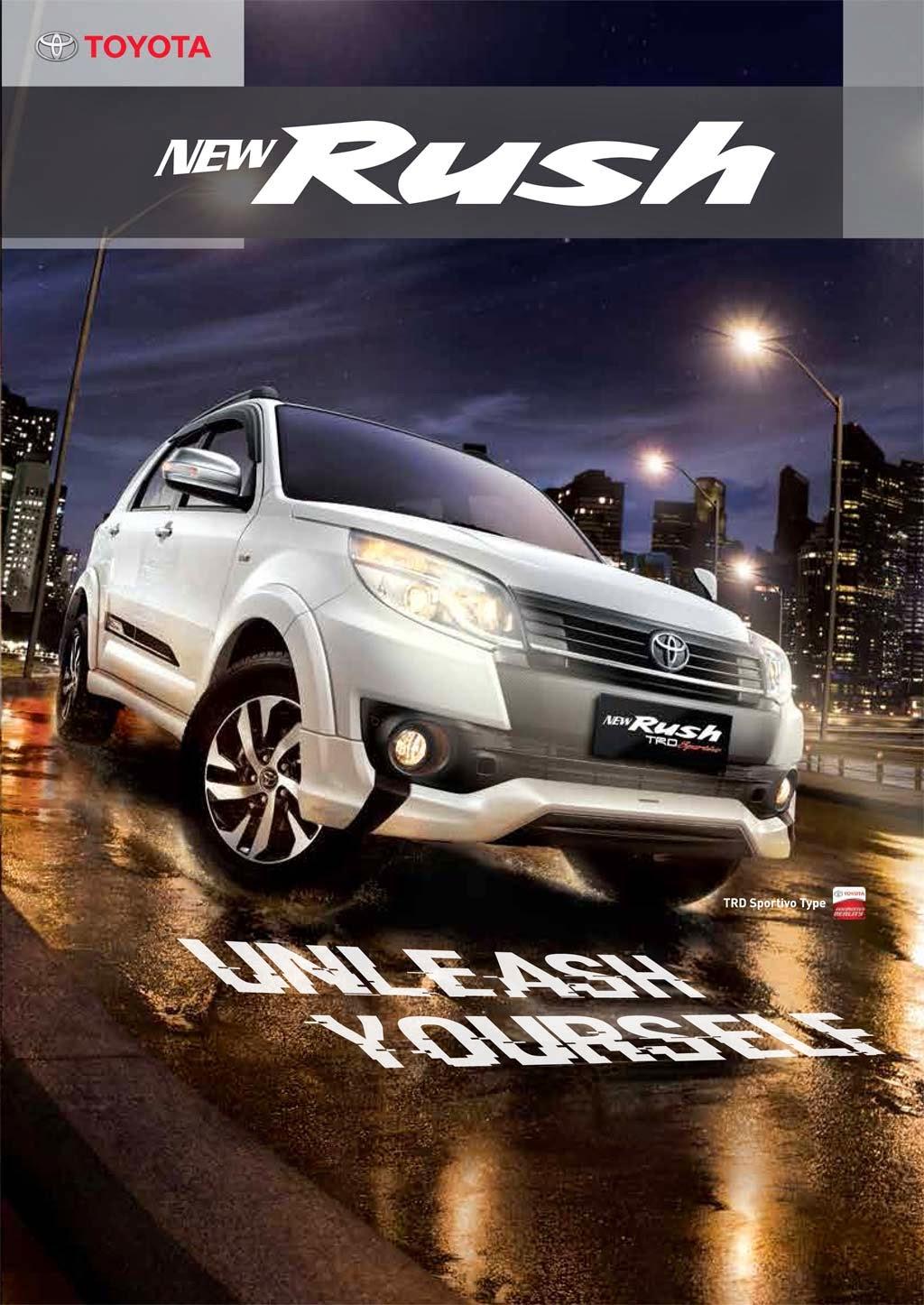 Brosur Grand New Avanza 2018 Toyota Yaris Trd Putih Rush Promo Jakarta
