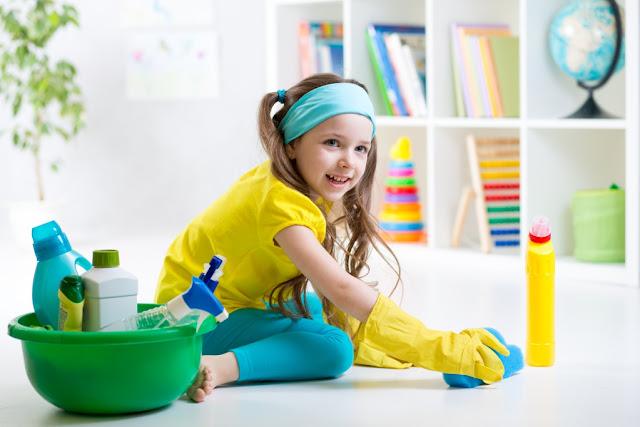 Как убирать в доме, если есть маленький ребенок