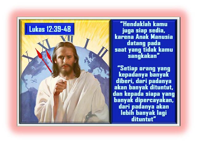 Lukas 12:39-48