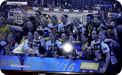 CSM Bucuresti campioana Europei la handbal