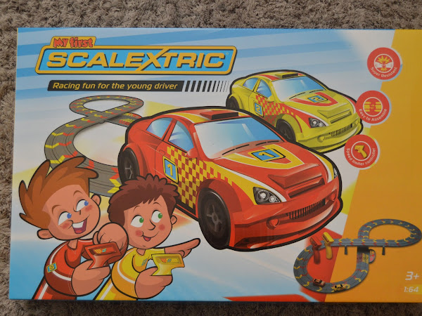 Review and Giveaway - My First Scalextric